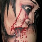 Razorblades Tattoo (Rasierklinge)