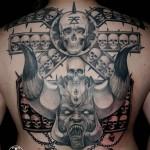 Skull Tattoo (Schädel / Totenkopf)