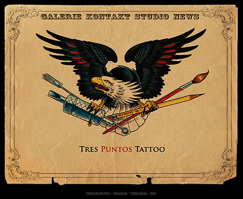Tres Puntos Tattoo Website